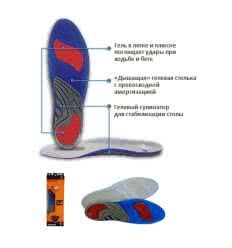 "Стельки SofSole ""Gel Active men"""