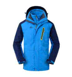 "Куртка Naturehike ""3в1 SoftShell Men's"" deep sea blue"